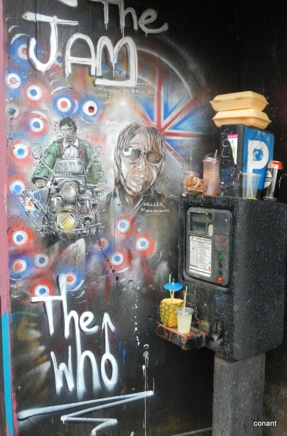 London street murales